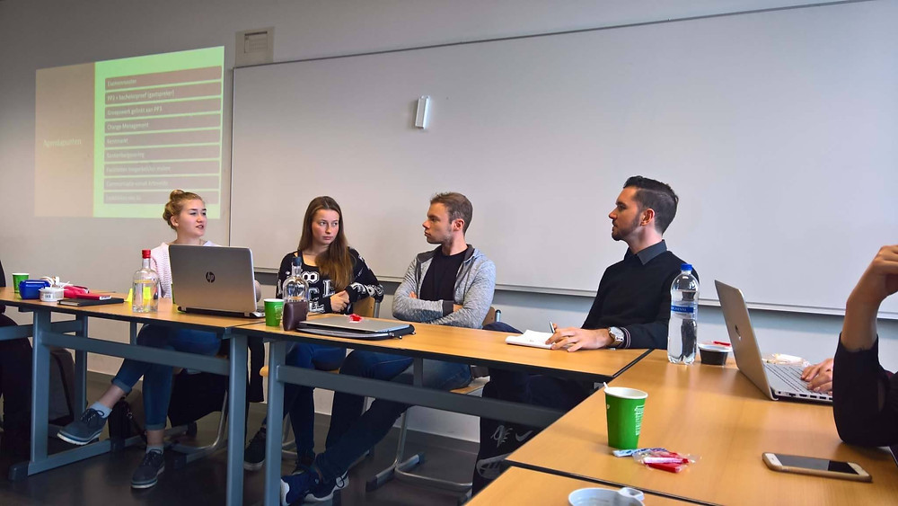 Sarina Martens stuver Arteveldehogeschool Gent Officemanagement