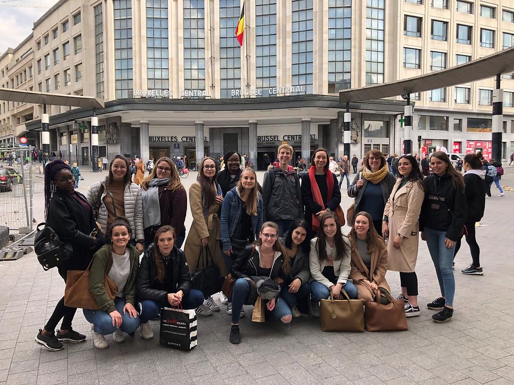 Officemanagement Arteveldehogeschool Gent uitwisseling ECSEDI-ISALT Brussel Frans