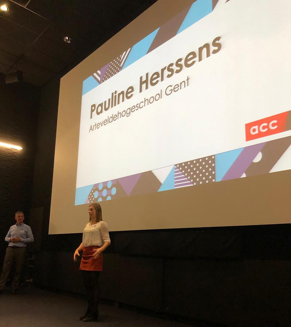 Pauline Herssens Frederik Loys Young Event Talent Day Brussel Officemanagement Gent Arteveldehogeschool