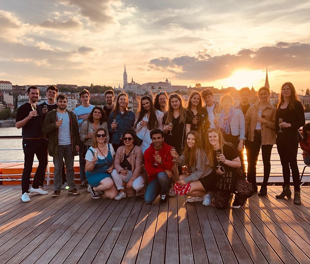 International Week on Tour Officemanagement Arteveldehogeschool Gent Madrid Boedapest Porto Münster Salamanca