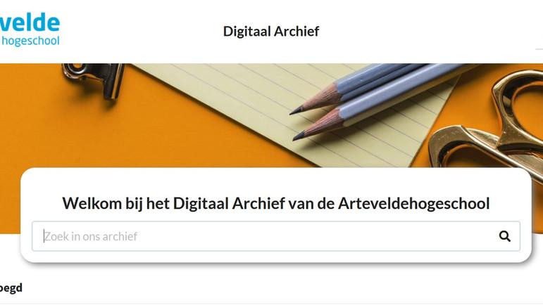 Digitaal archief van alle eindwerken: we zijn live!