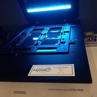 Digitalizacao de imagem scanner profissional epson V750 Pro