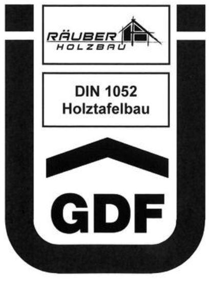 Ü-Zeichen DIN 1052 Holztafelbau