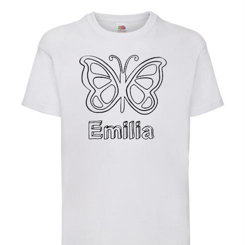 Colour my Own T-Shirt - Childrens