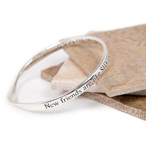 Message Bracelet - New Friends....
