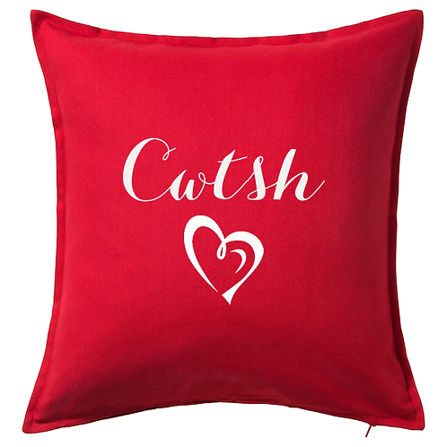 Cwtsh/Cwtch Cushion