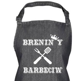 Brenin Y Barbeciw Apron