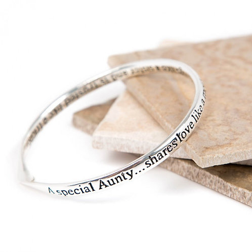 Message Bracelet - Special Aunty