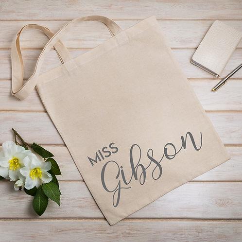 Tote Carry Bag - Teacher