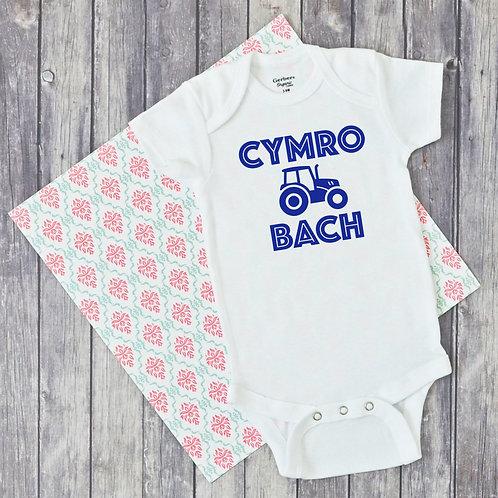 Cymo Bach/Cymraes Fach Baby Grow