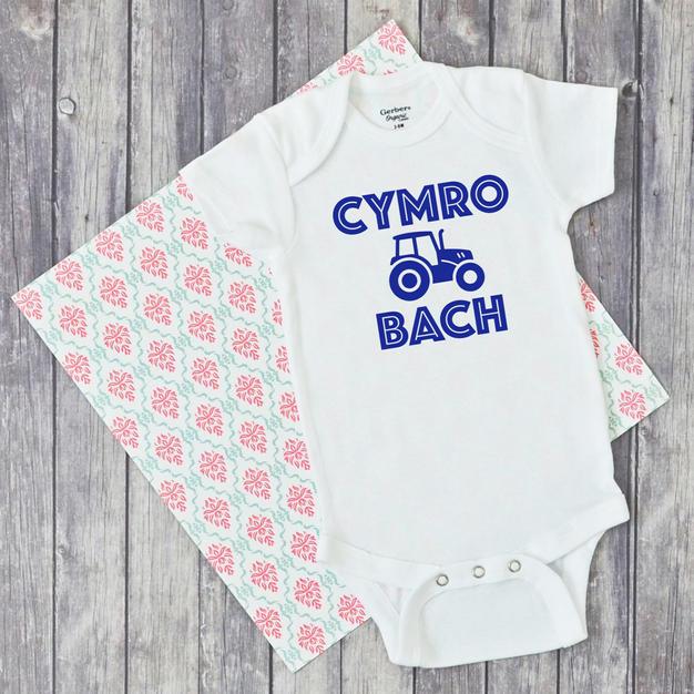 Cymro Bach Baby Vest