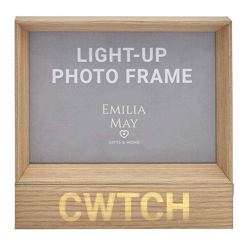 LED Light-up 'Cwtch' 7x5 Frame