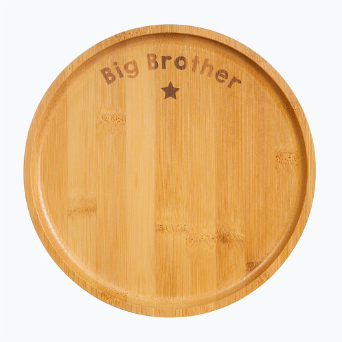 Bamboo Plate Big Brother