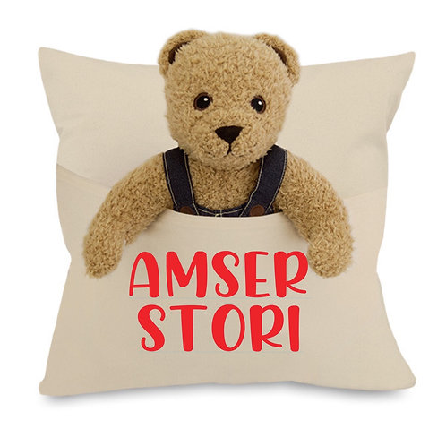 Amser Stori/Story Time Cushion
