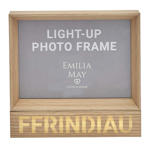 LED Light-up 'Ffrindiau' 7x5 Frame