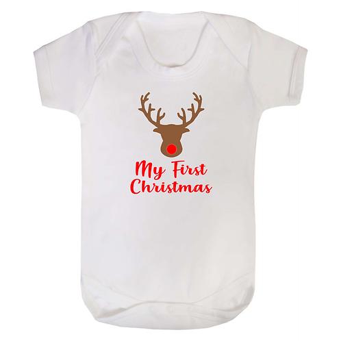 Christmas Baby Vest