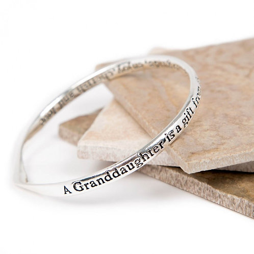 Message Bracelet - Granddaughter
