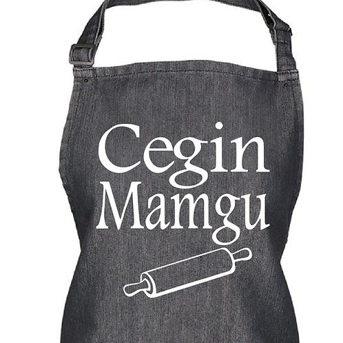 Welsh Kitchen Apron - Cegin Mamgu