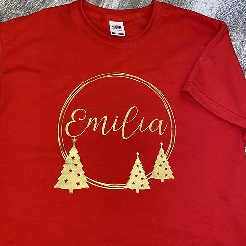 Personalised Christmas T-Shirt