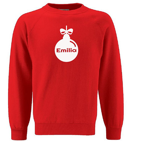 Christmas Bauble Jumper