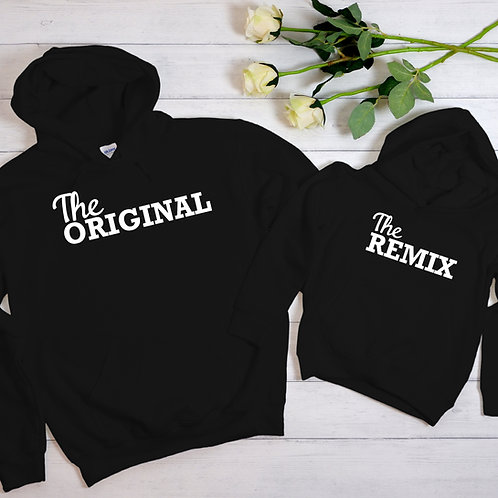 Remix & Original Family Hoodie Set