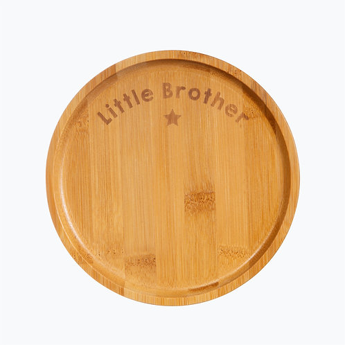 Bamboo Plate Little Brother