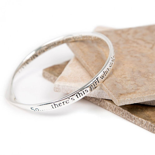 Message Bracelet - So there's this Girl.....