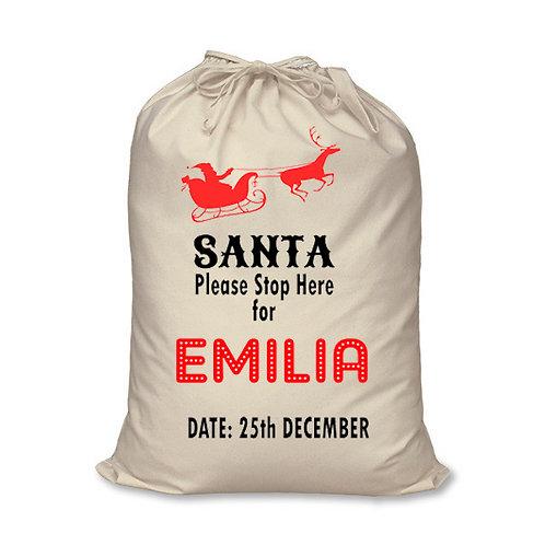 Santa Sack - Personalised