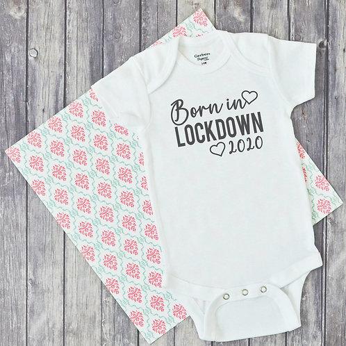 Born in Lockdown 2020 Baby Vest
