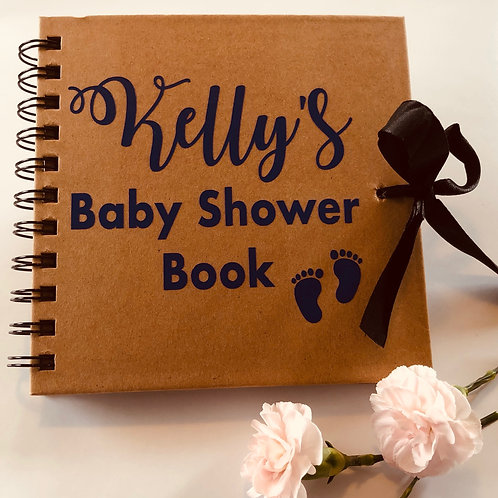 Baby Shower Book Decal