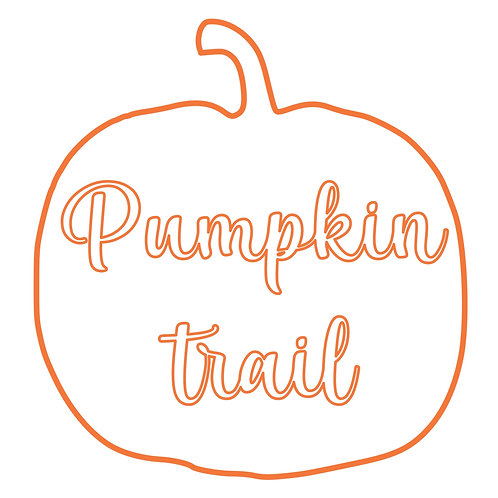 Pumpkin Trail Colouring Sheet