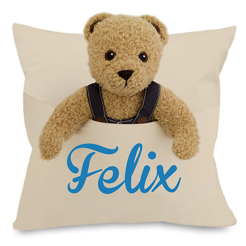 Personalised Cushion with Pocket