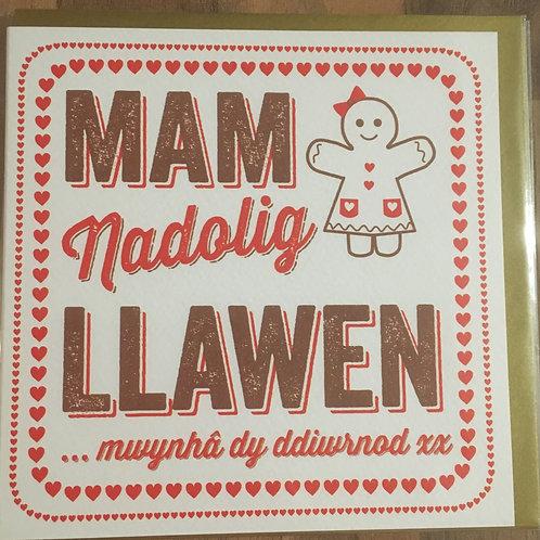 Nadolig Llawen - Mam