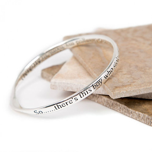 Message Bracelet - So there's this Boy.....