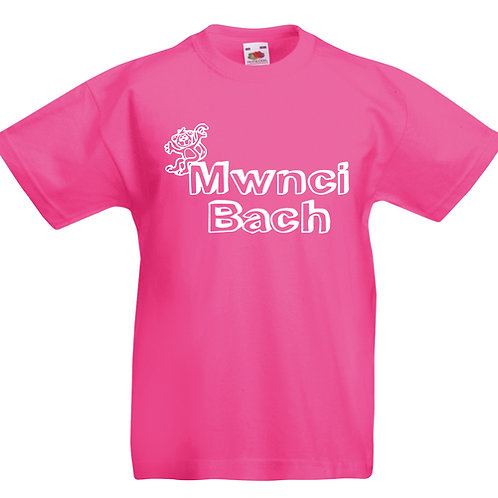 Child's T-Shirt - Mwnci Bach