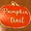 Thumbnail: Pumpkin Trail Window Sticker Decal - Vinyl