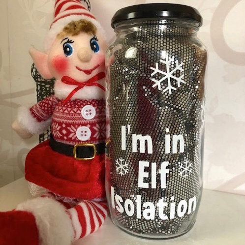 Elf On A Shelf Isolation Vinyl Decal Set