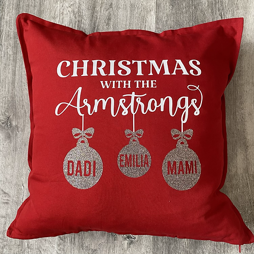 Christmas at the.....Cushion