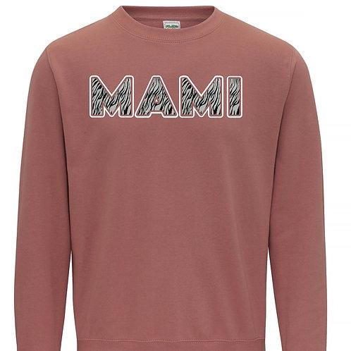 Mami Sweatshirt - Zebra Print