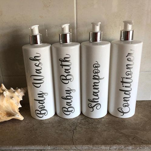 Bathroom Pump Bottle 500ml