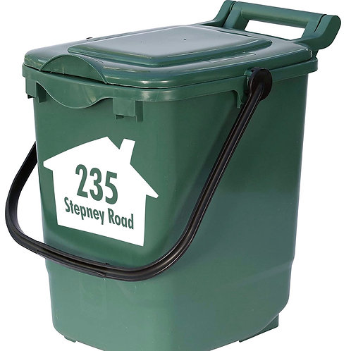 Food Bin Vinyl Sticker