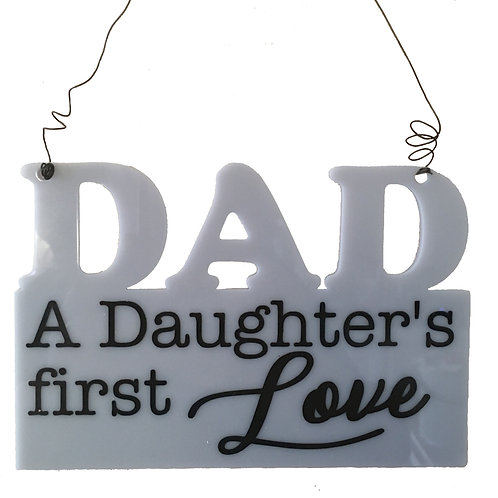 Dad Acrylic Plaque