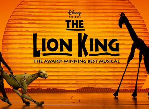 """""""The Lion King"""" Roars Onstage"""