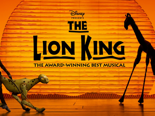 """The Lion King"" Roars Onstage"