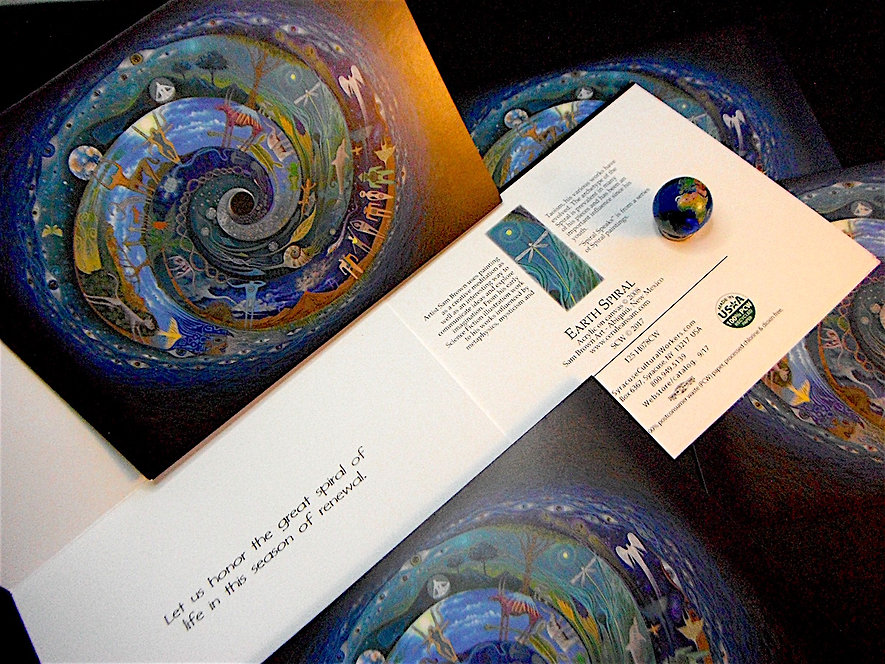 Sam Brown Art/Card Set thru Syracuse Cultural Workers