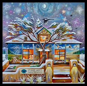 Fine Art New Mexico - Arroyo Seco