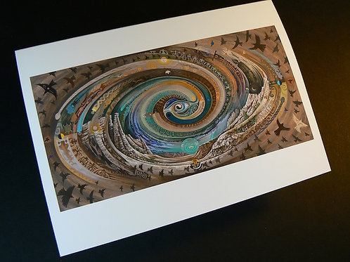 Plaza Blanca Spiral ART CARD