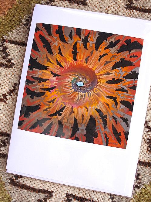 Raven Egg   ART CARD