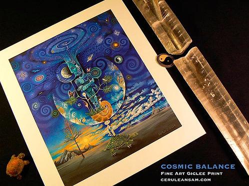 Cosmic Balance - paper20x24