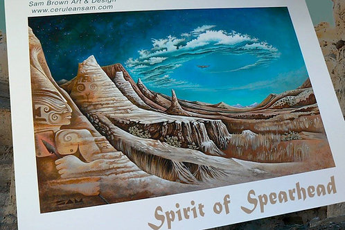 Spirit of Spearhead - paper8x12